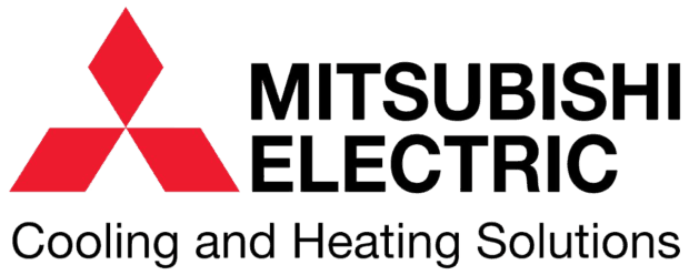 Logo for Mitsubishi Electric Heating and Air Conditioning
